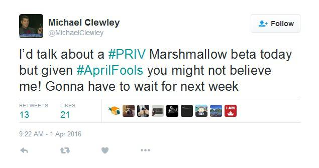 BlackBerry Priv Marshmallow Beta Teaser KK