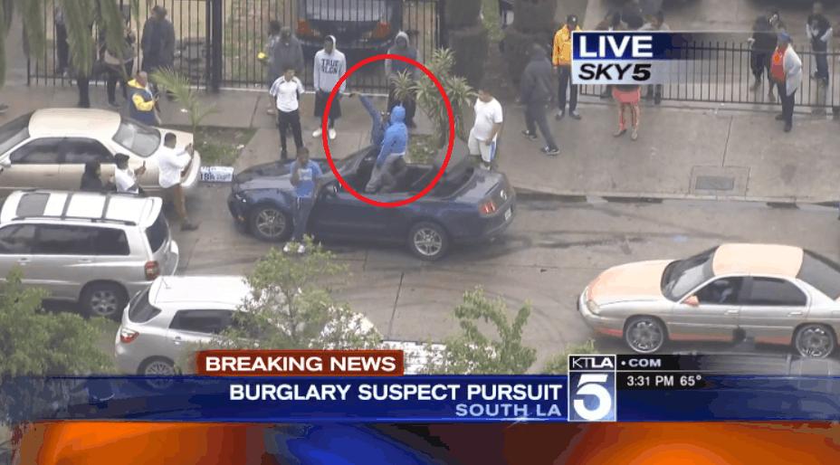 Burglary Suspects in LA Snapping Selfies KK