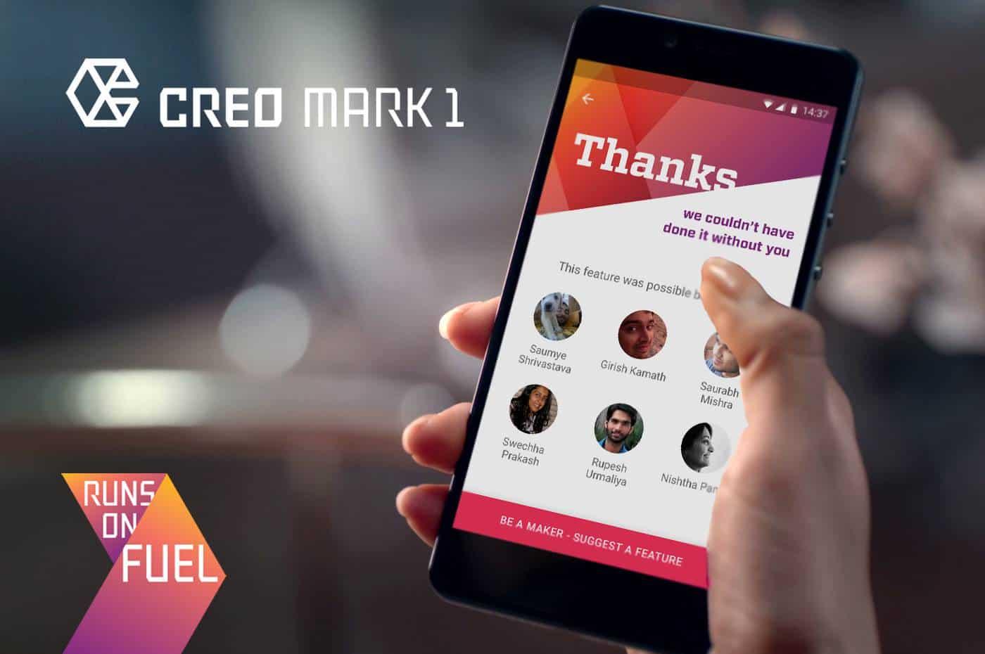 CREO Mark 1 Community Inclusive Update System
