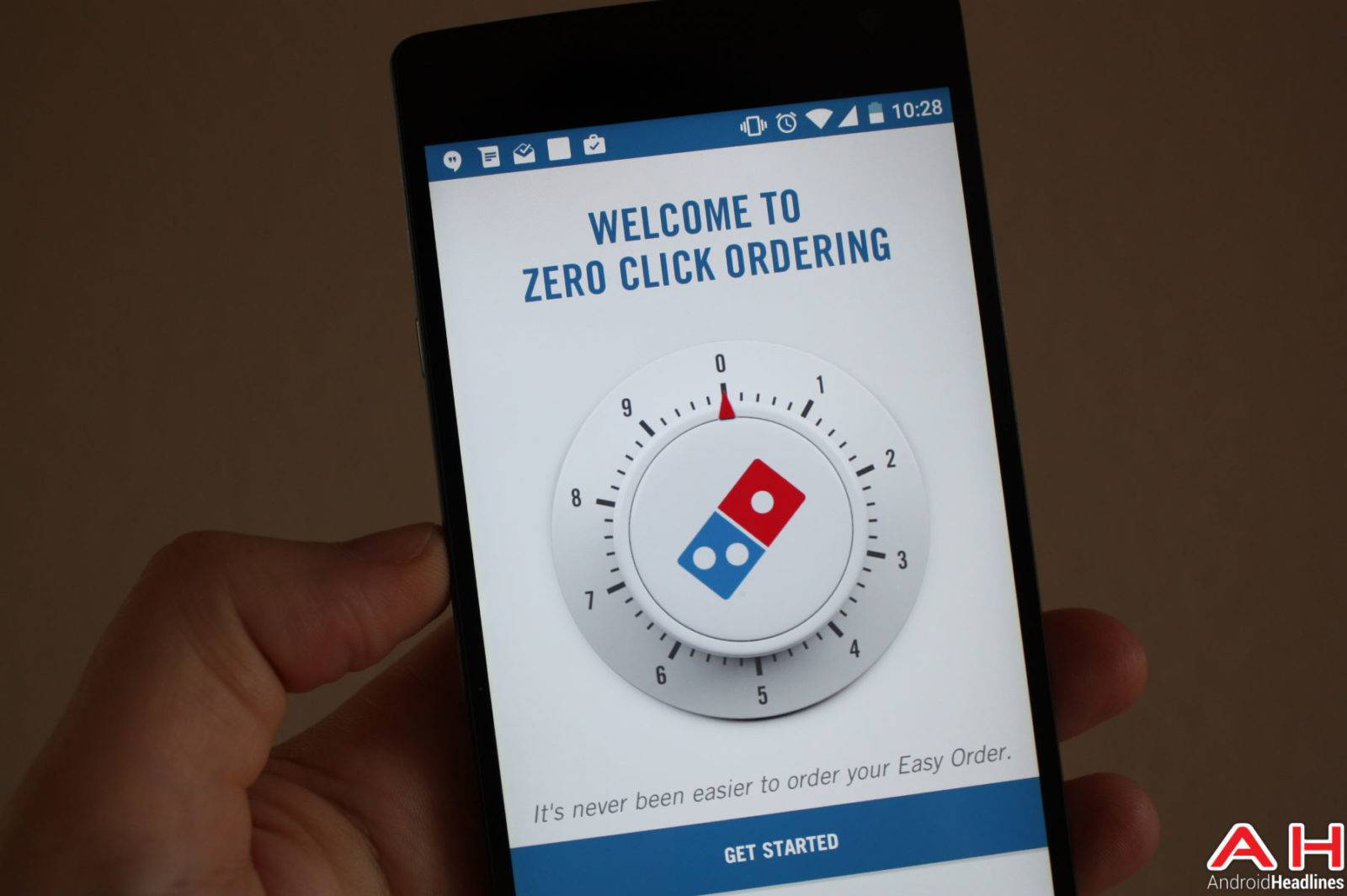 Dominos Zero Click AH-1