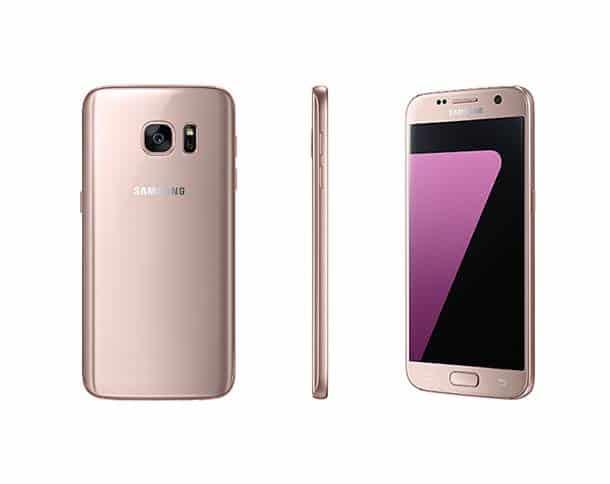 Galaxy S7 Pink 05