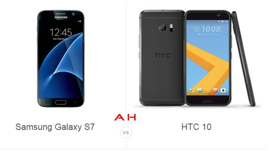 Galaxy S7 vs HTC 10 cam 2AH