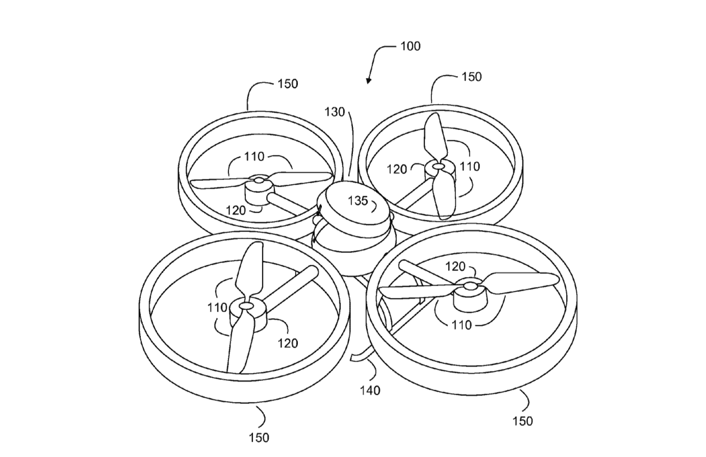 Google medical aid drone patent
