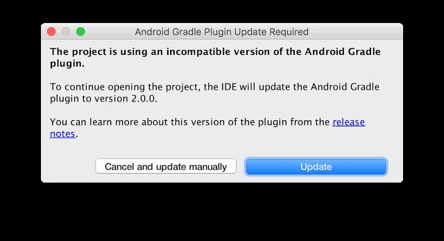 Google Android Studio 2 0 6