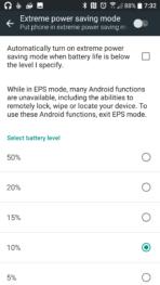 HTC 10 AH NS Screenshots battery power save