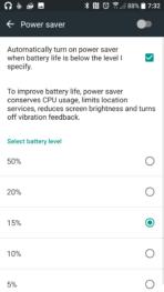 HTC 10 AH NS Screenshots battery power save 2