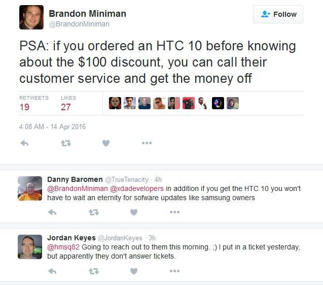 HTC 10 Promo Discount KK
