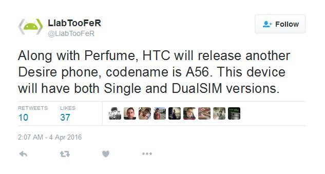 HTC Desire A56 Rumor KK