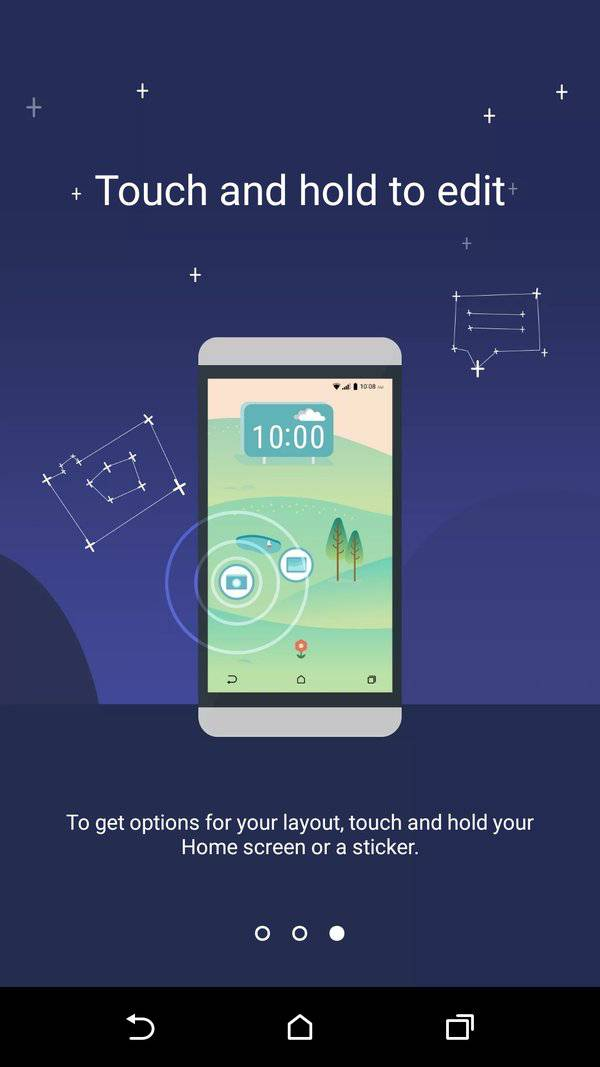HTC freestyle layouts 2