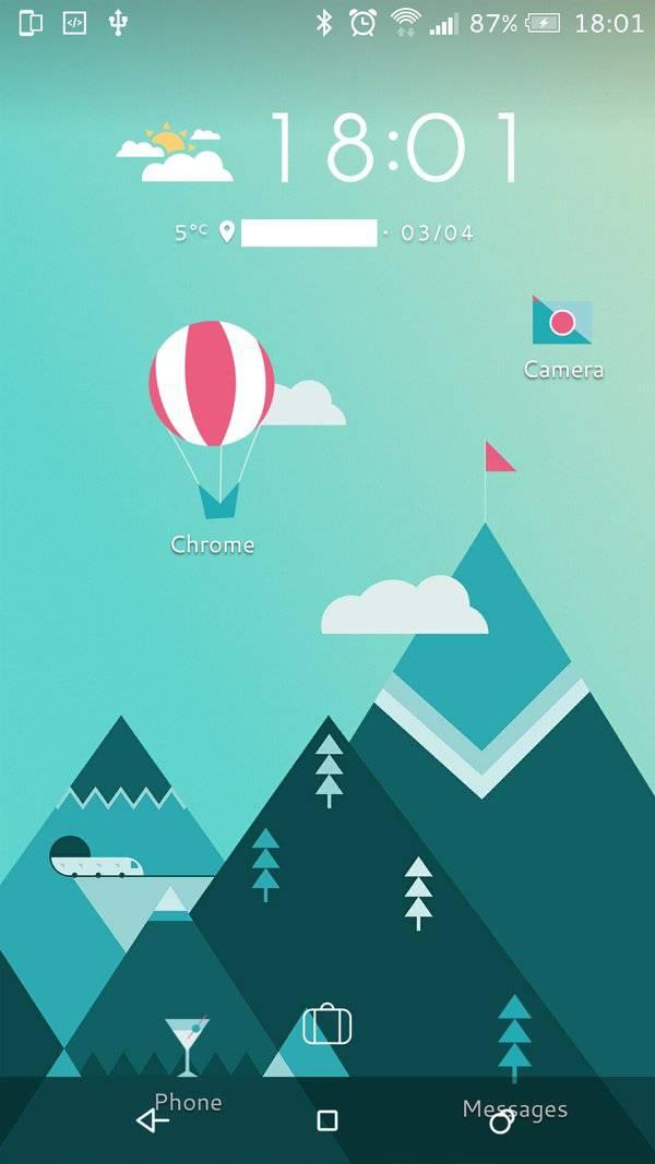 HTC freestyle layouts 3