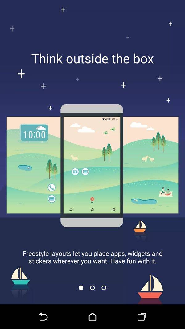 HTC freestyle layouts 4