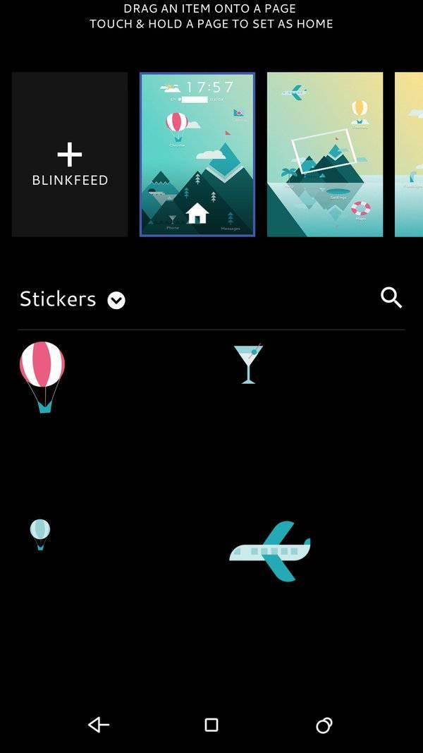HTC freestyle layouts 5
