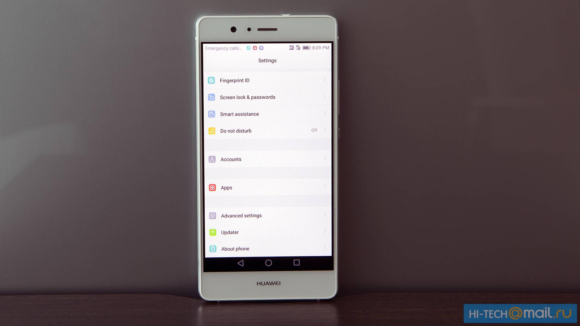 Huawei P9 Lite Hi Tech Mail 3