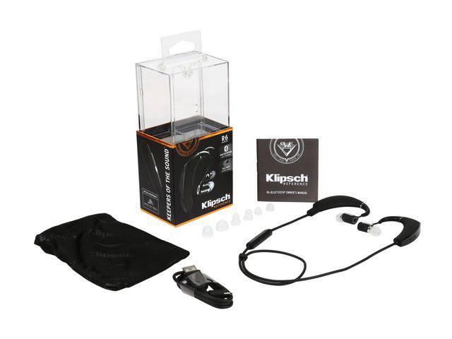 klipsch earbuds r6. buy the klipsch r6 bluetooth earphones earbuds a