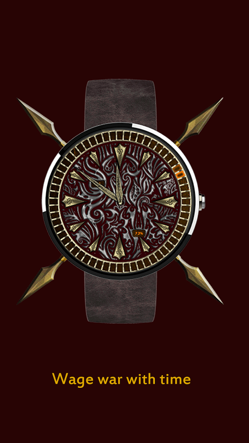 Kratos Warrior Watch Face