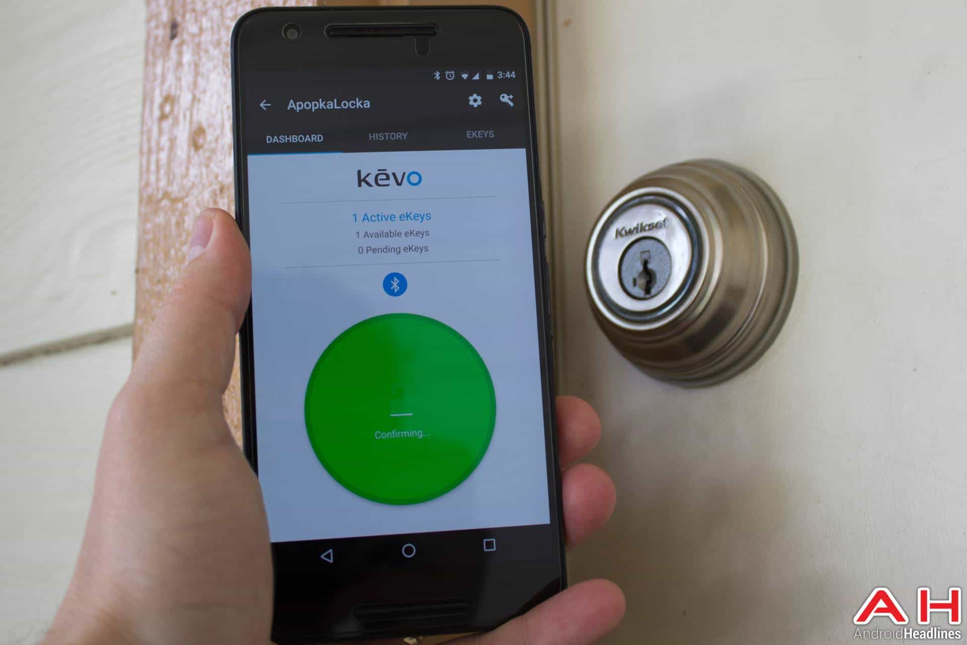 Review: Kwikset Kevo Bluetooth Deadbolt | Androidheadlines.com