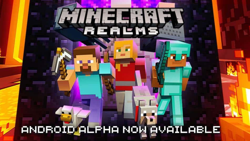 Minecraft Realms Alpha