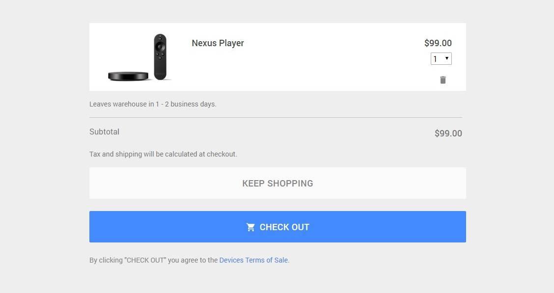 Nexus Player Google Store 4