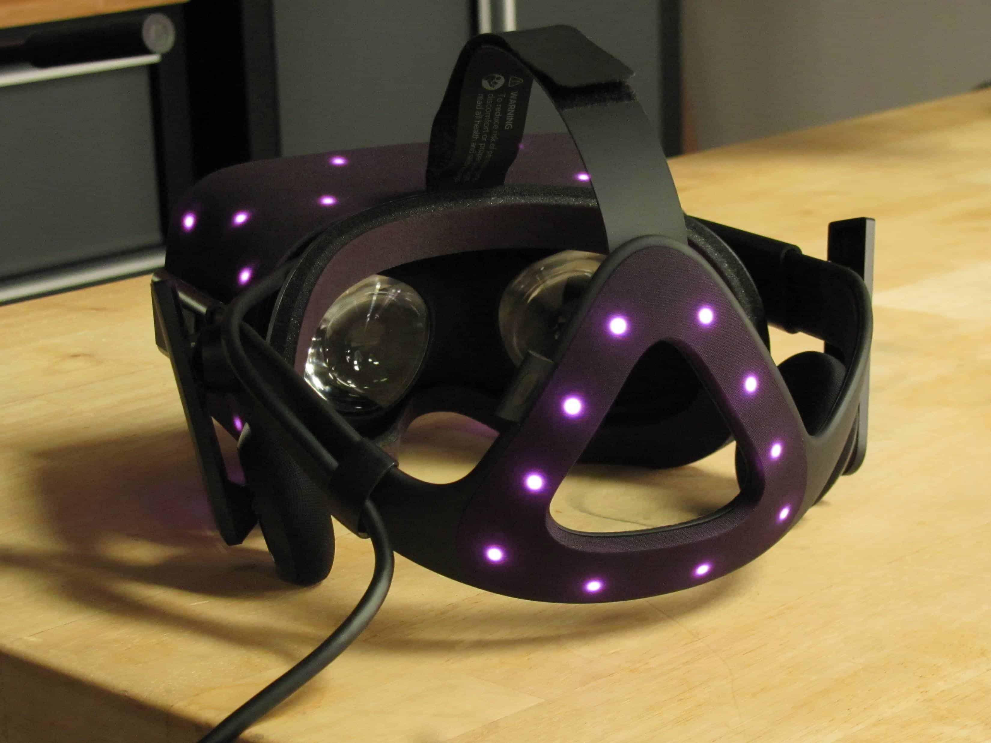Oculus Rift Teardown 1
