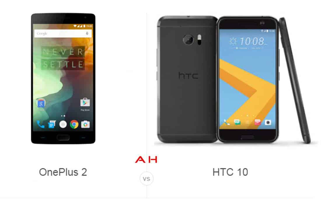 OnePlus 2 vs HTC 10 cam AH