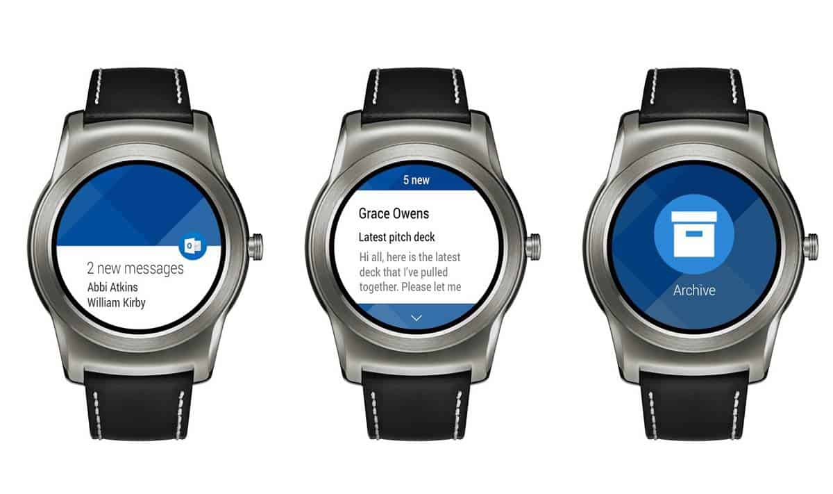 Outlook Androidwear Press KK