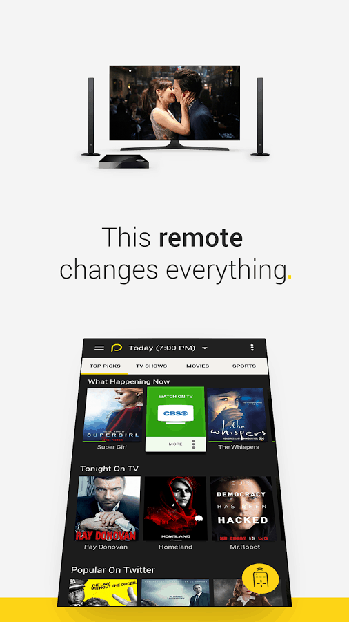 Peel Universal Remote TV Guide