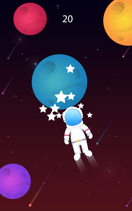 Planet Surfer astronaut