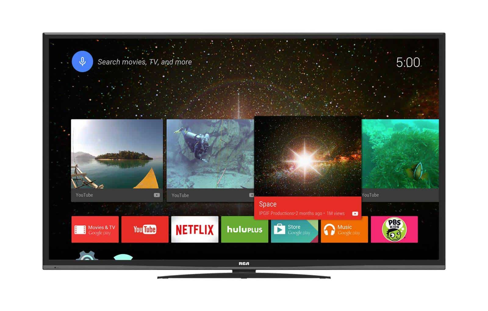 RCA Android TV June 2016