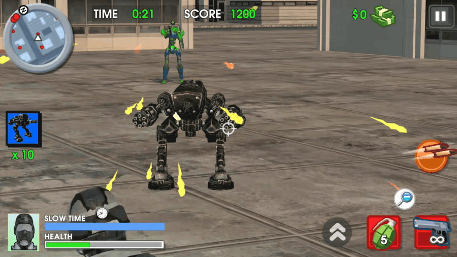 Robot Hell attackers