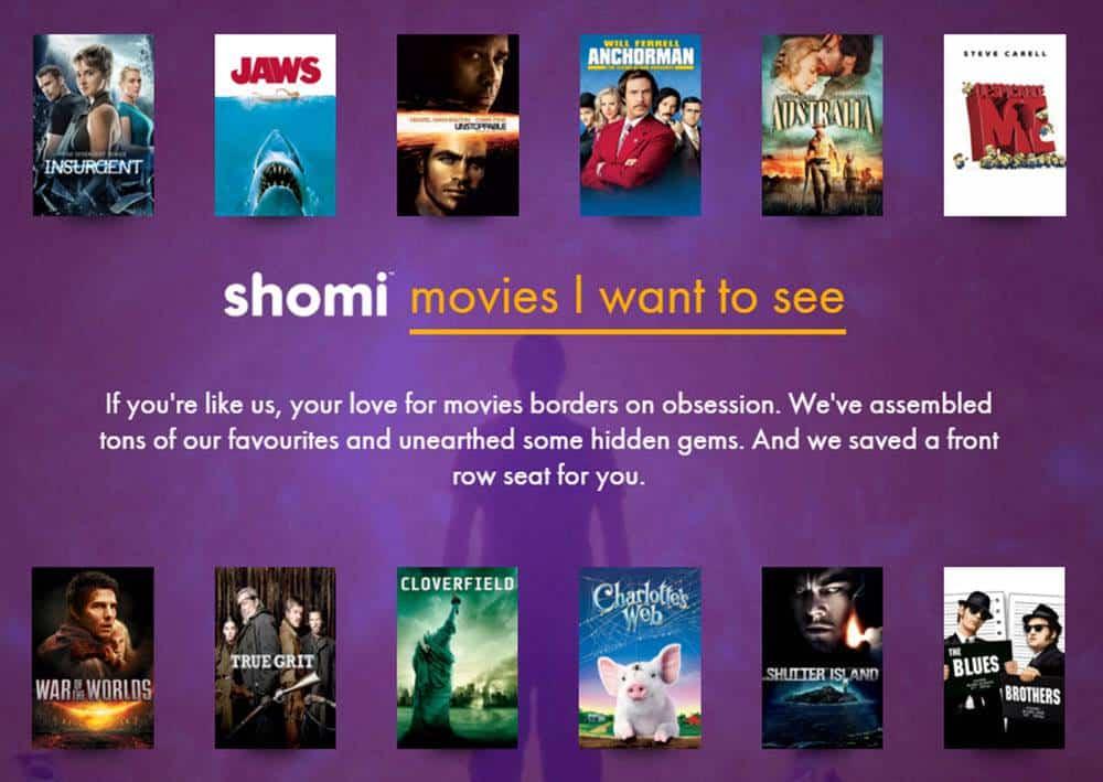 Rogers Shomi Ad