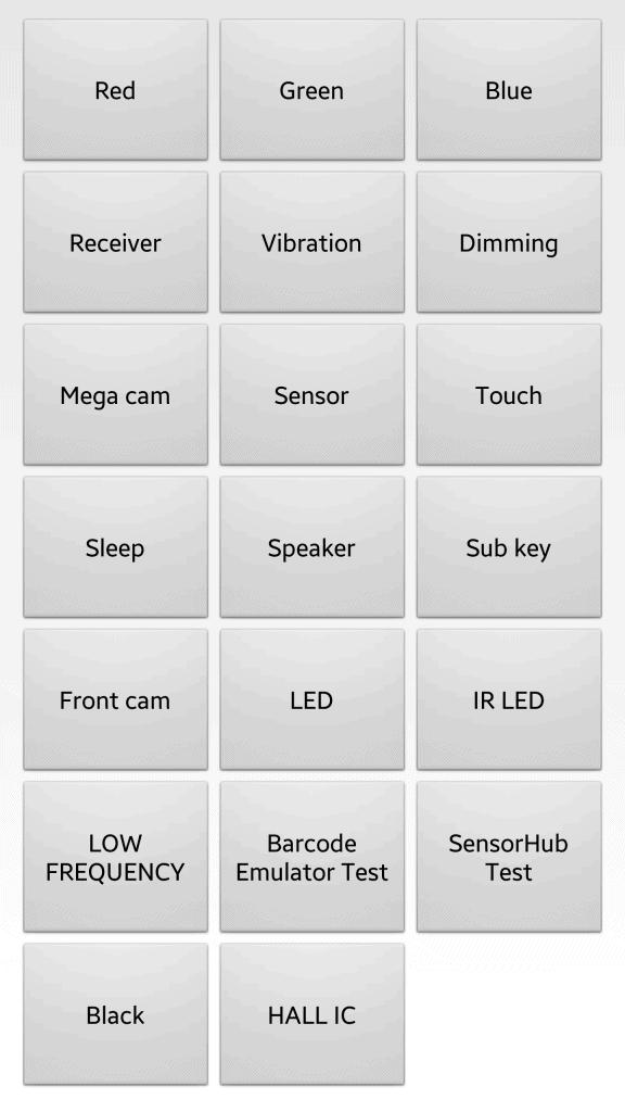 Samsung Galaxy S7 hidden diagnostic