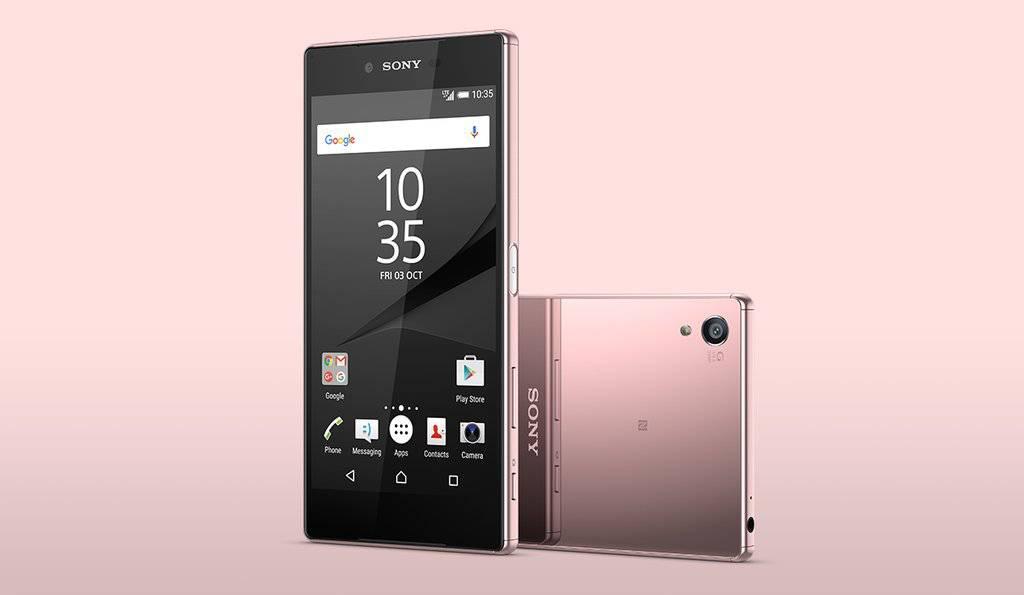 Sony Xperia Z5 Premium Pink