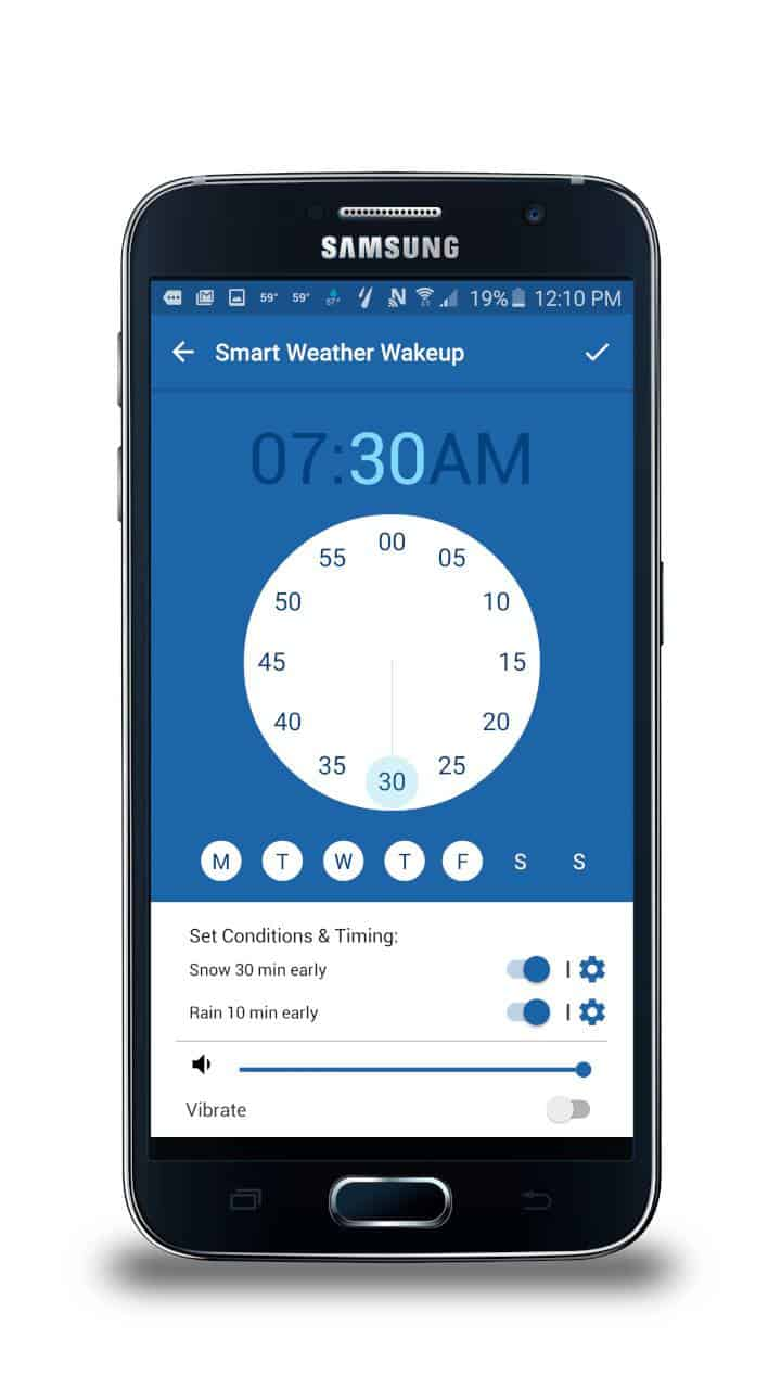 The Weather Channel app for Samsung 1