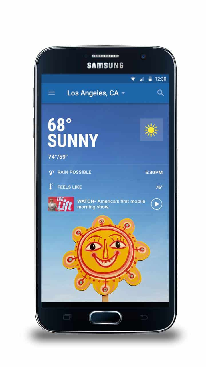 The Weather Channel app for Samsung 3