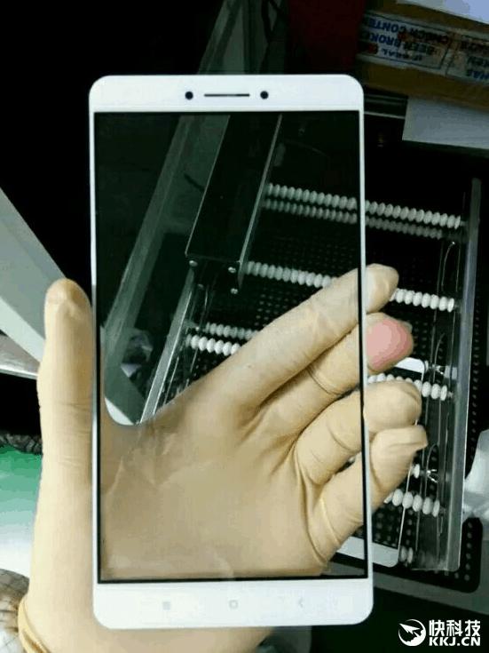 Xiaomi Max front panel leak_2