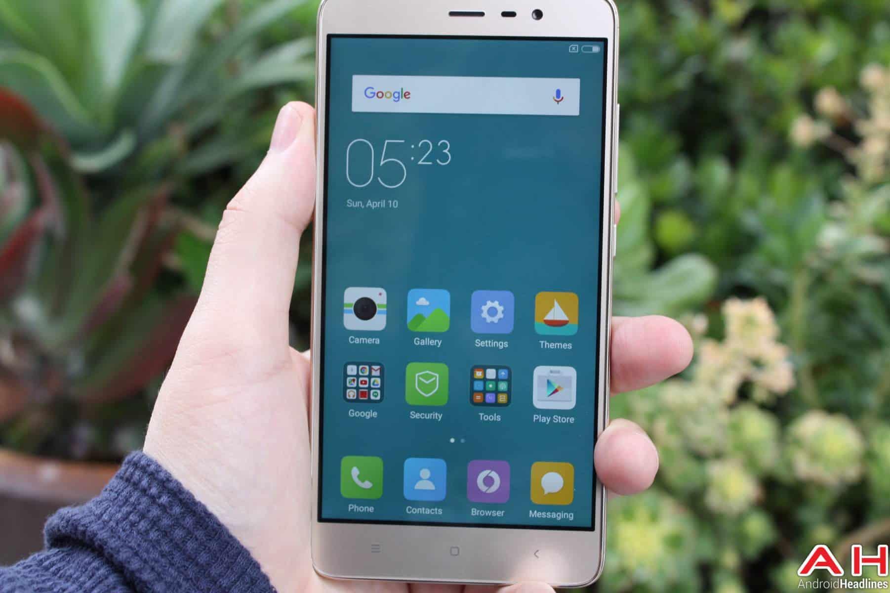 Xiaomi Redmi Note 3 Display AH-2
