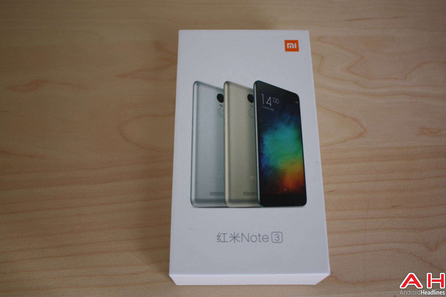 Xiaomi Redmi Note 3 Unboxing AH 1