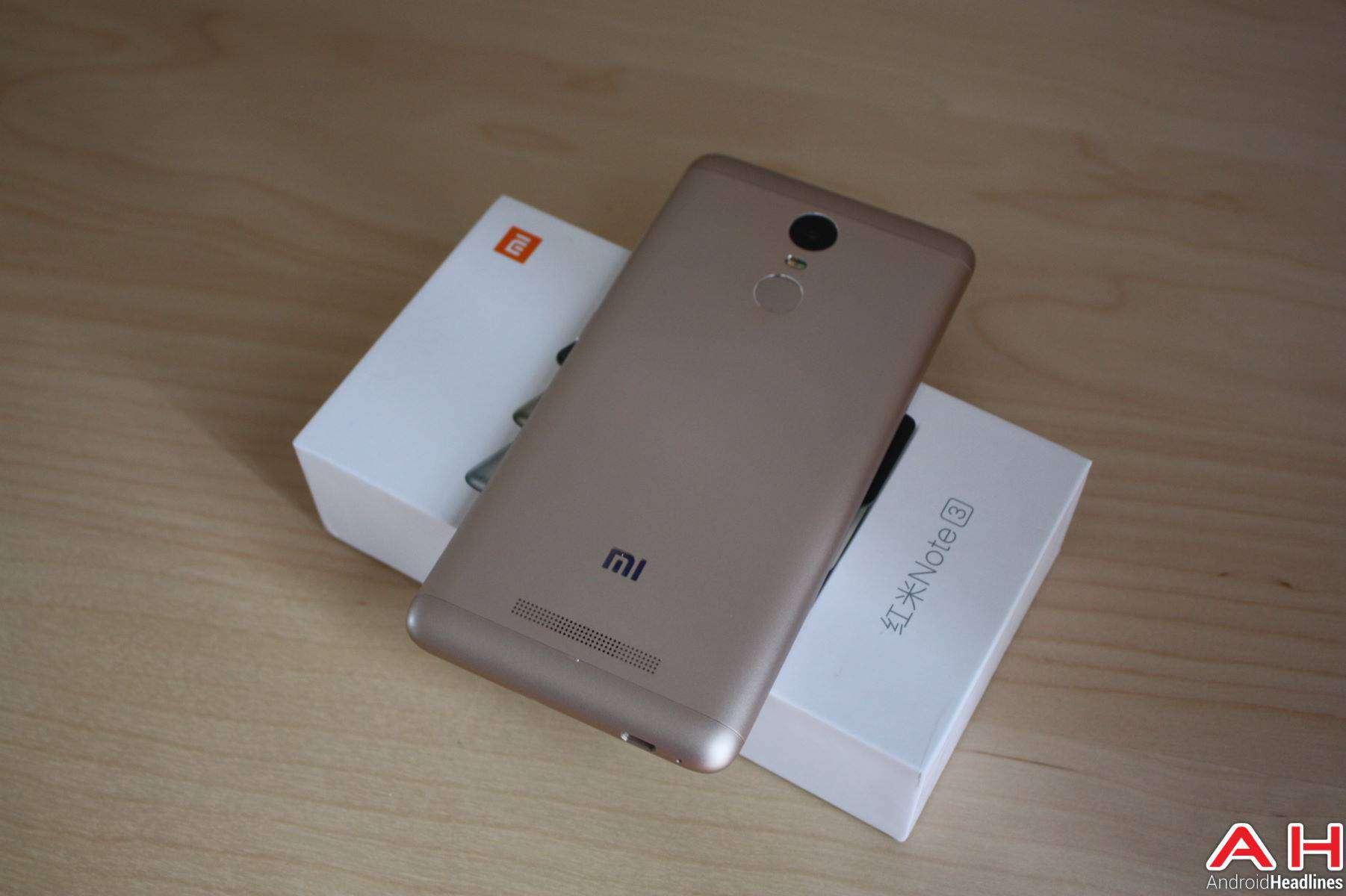Xiaomi Redmi Note 3 Unboxing AH-4