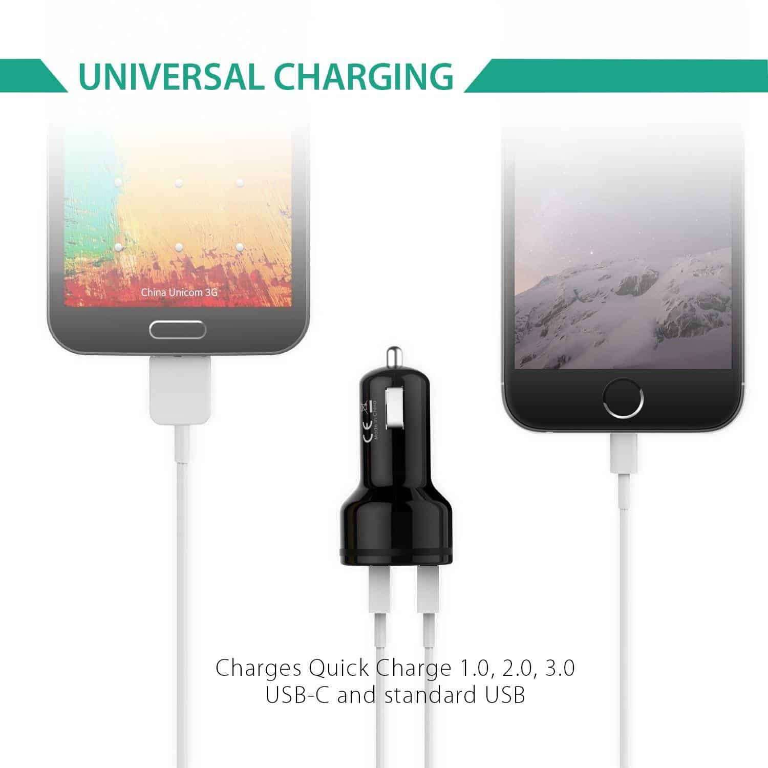 aukey qc3 car charger 6