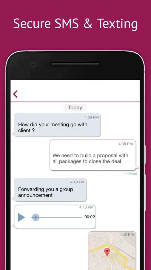 iPlum messaging