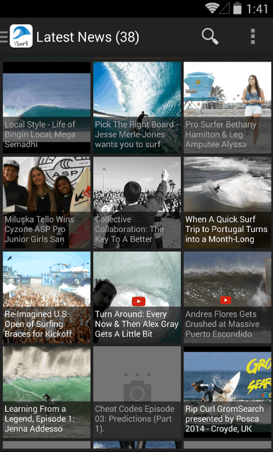 iSurf - Surfing News & Videos