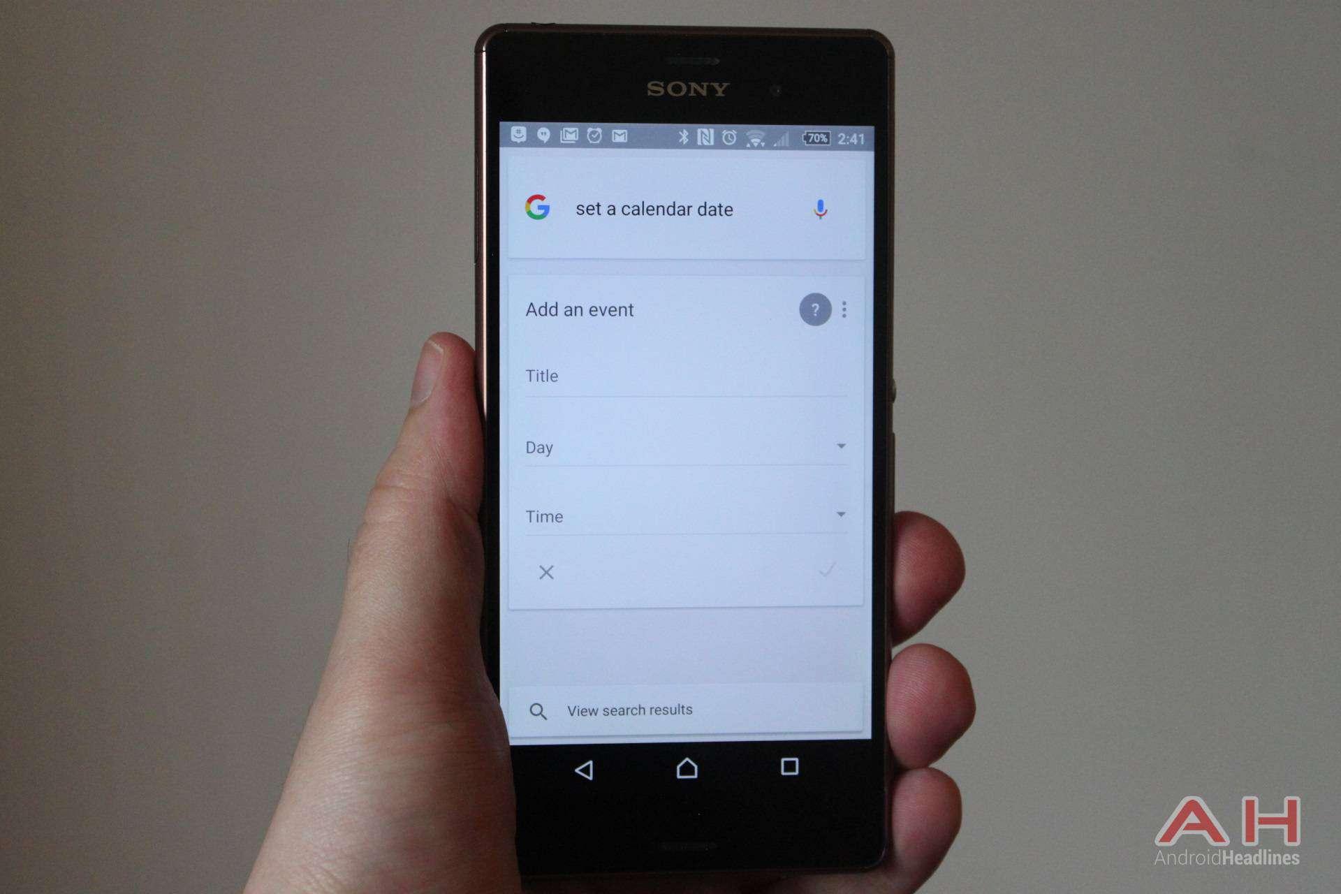 AH Google Now - calendar date-1