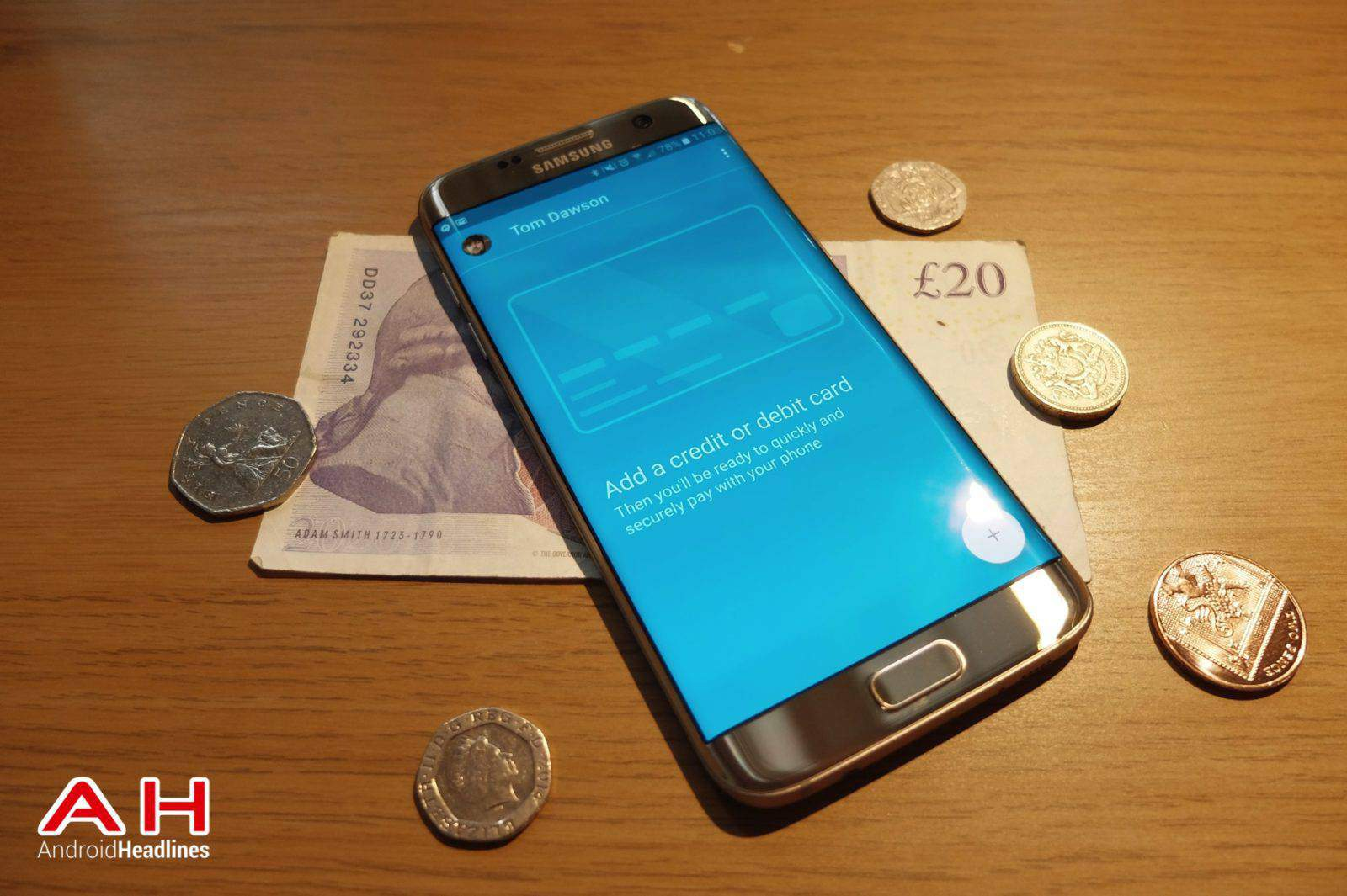 Android Pay UK AH TD