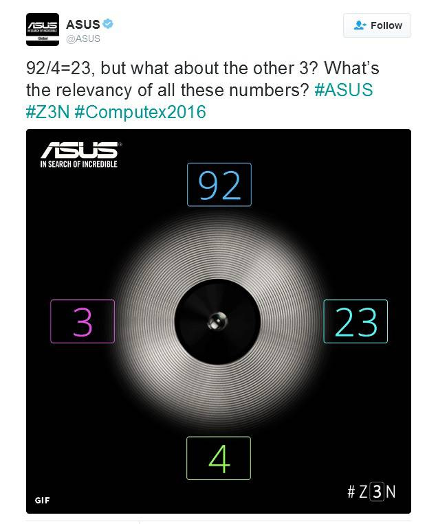 Asus ZenFone 3 23MP Camera Teaser KK