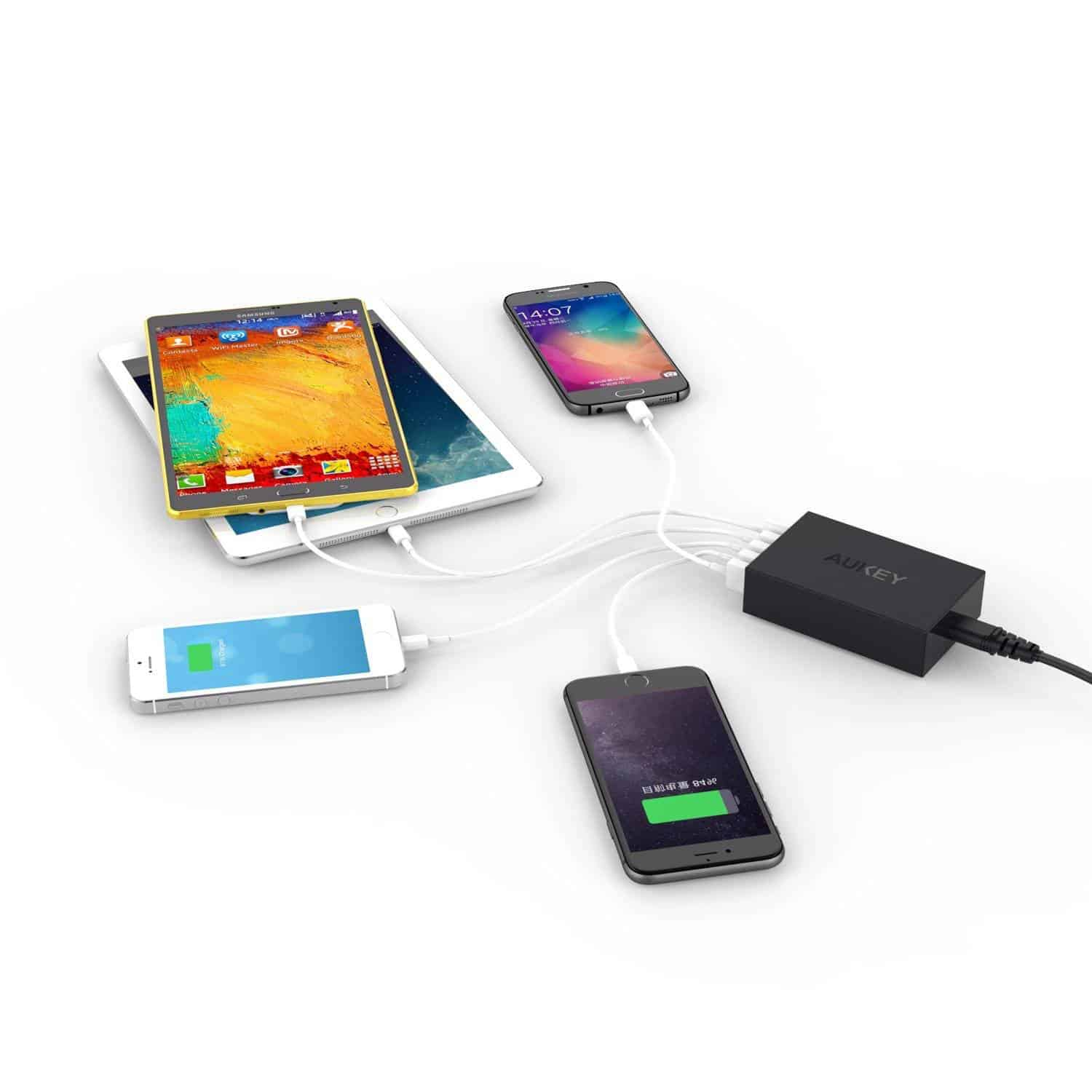 Aukey 5 port charger deal 6