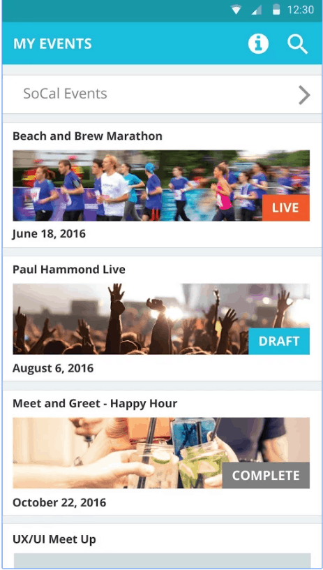 Events Dot Com Event Assistant Play Store 1