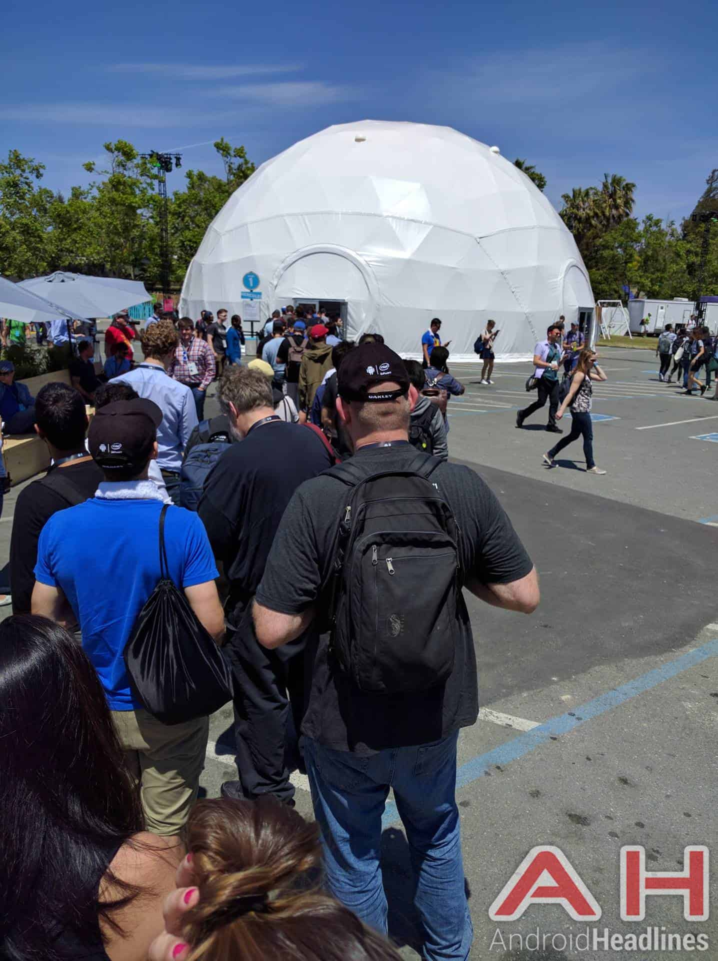 Google IO 2016 day lines