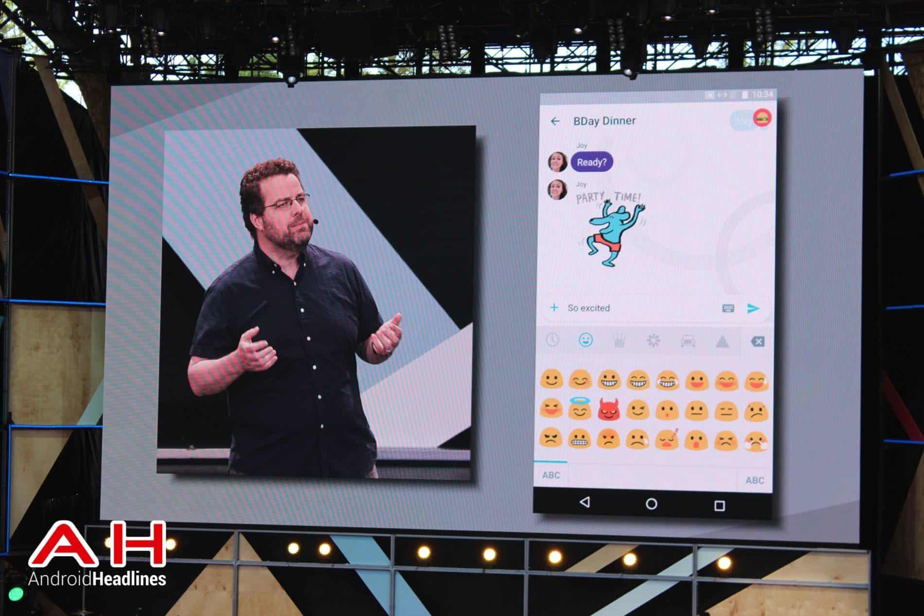 Google IO Keynote Allo AH 3