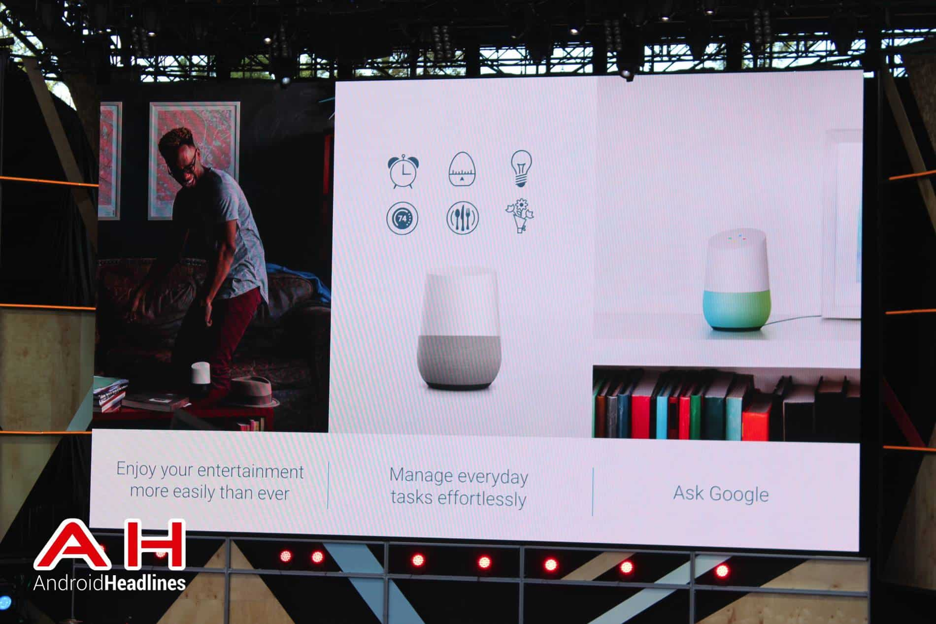 Google IO Keynote Assistant and Home AH 10