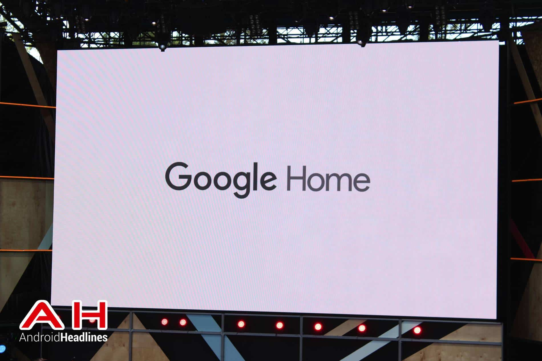 google officially announces google home smart speaker. Black Bedroom Furniture Sets. Home Design Ideas